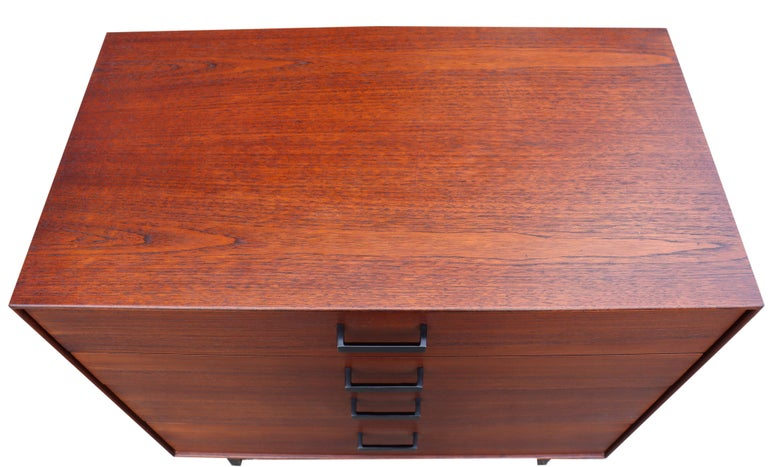 American Midcentury Thin Edge Cabinet by George Nelson For Sale