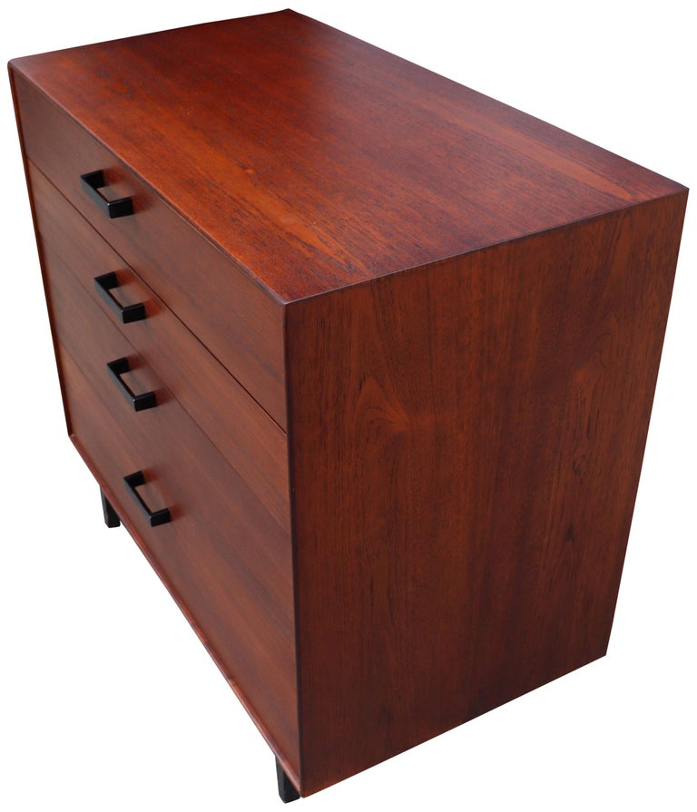 20th Century Midcentury Thin Edge Cabinet by George Nelson For Sale