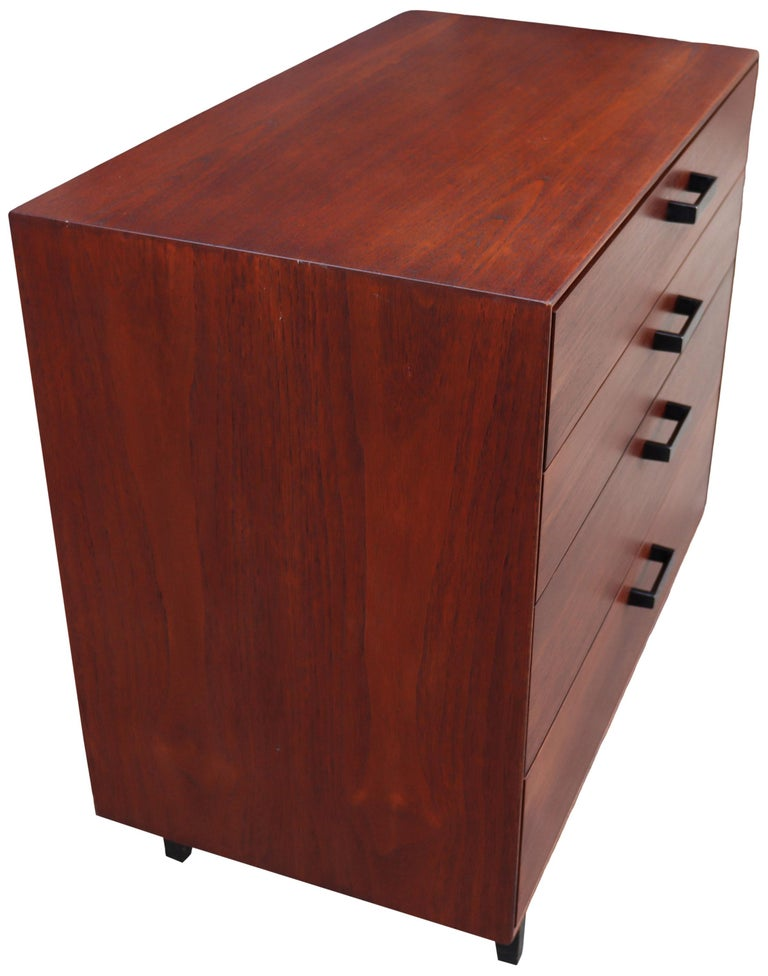 Midcentury Thin Edge Cabinet by George Nelson For Sale 1