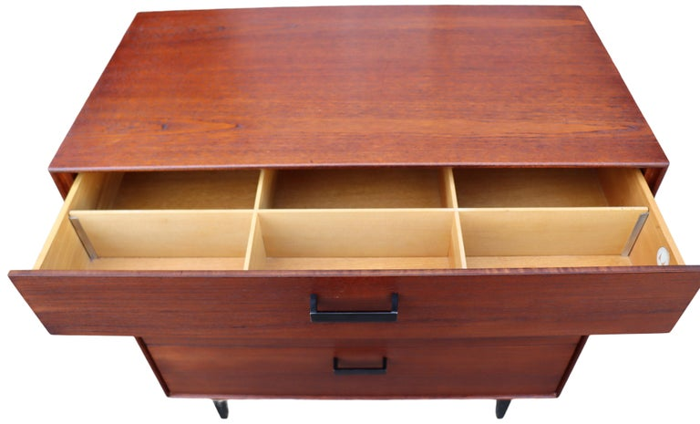 Midcentury Thin Edge Cabinet by George Nelson For Sale 2