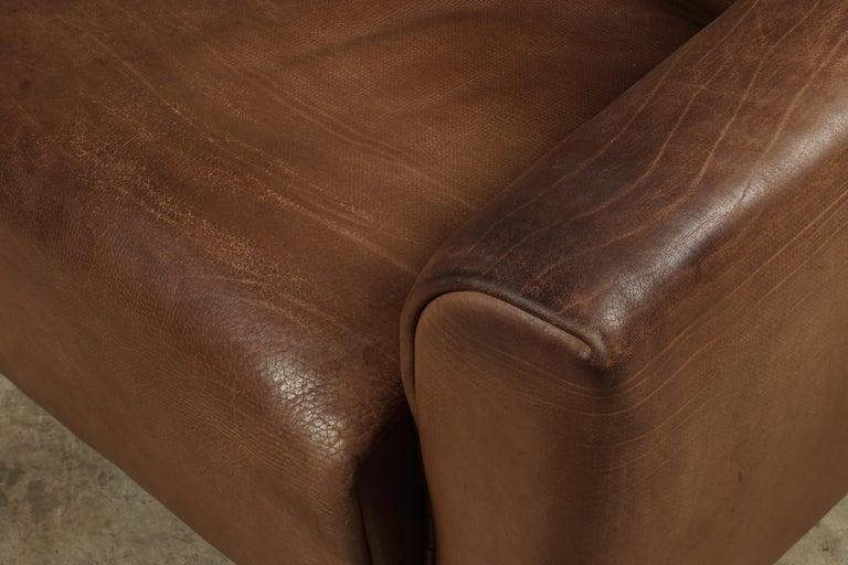 European Midcentury Three-Seat Sofa Manufactured by De Sede, Switzerland, Model DS 47 For Sale