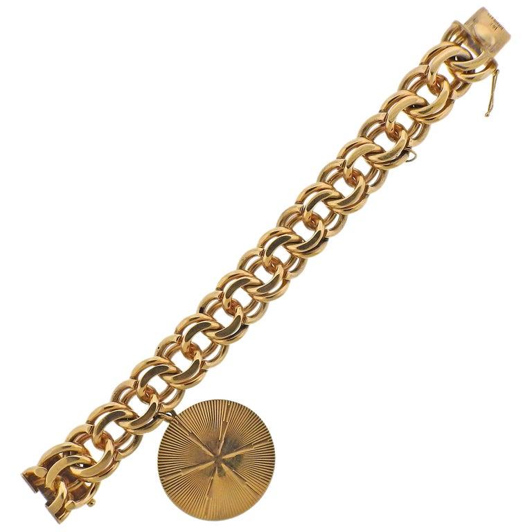 Midcentury Tiffany & Co. Charm Bracelet For Sale