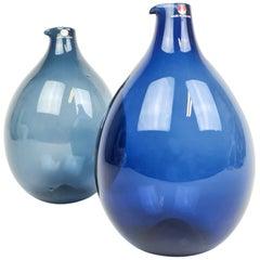 Midcentury Timo Sarpaneva Bird Bottles / Vases Iittala