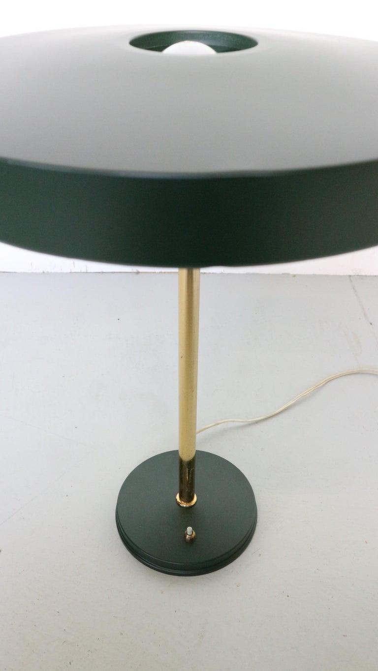 Metal Midcentury 'Timor' Desk Lamp by, Louis Kalff, 1950s