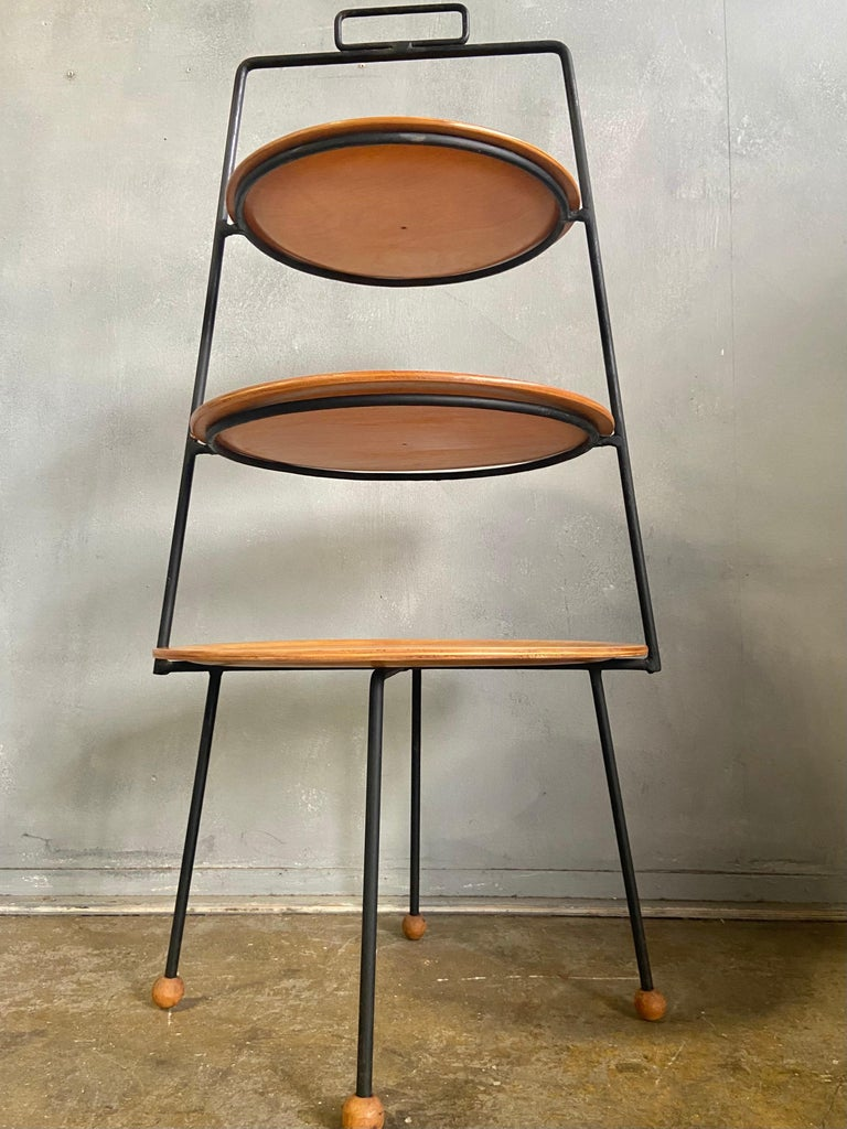 Midcentury Tony Paul Three-Tier Stand For Sale 5