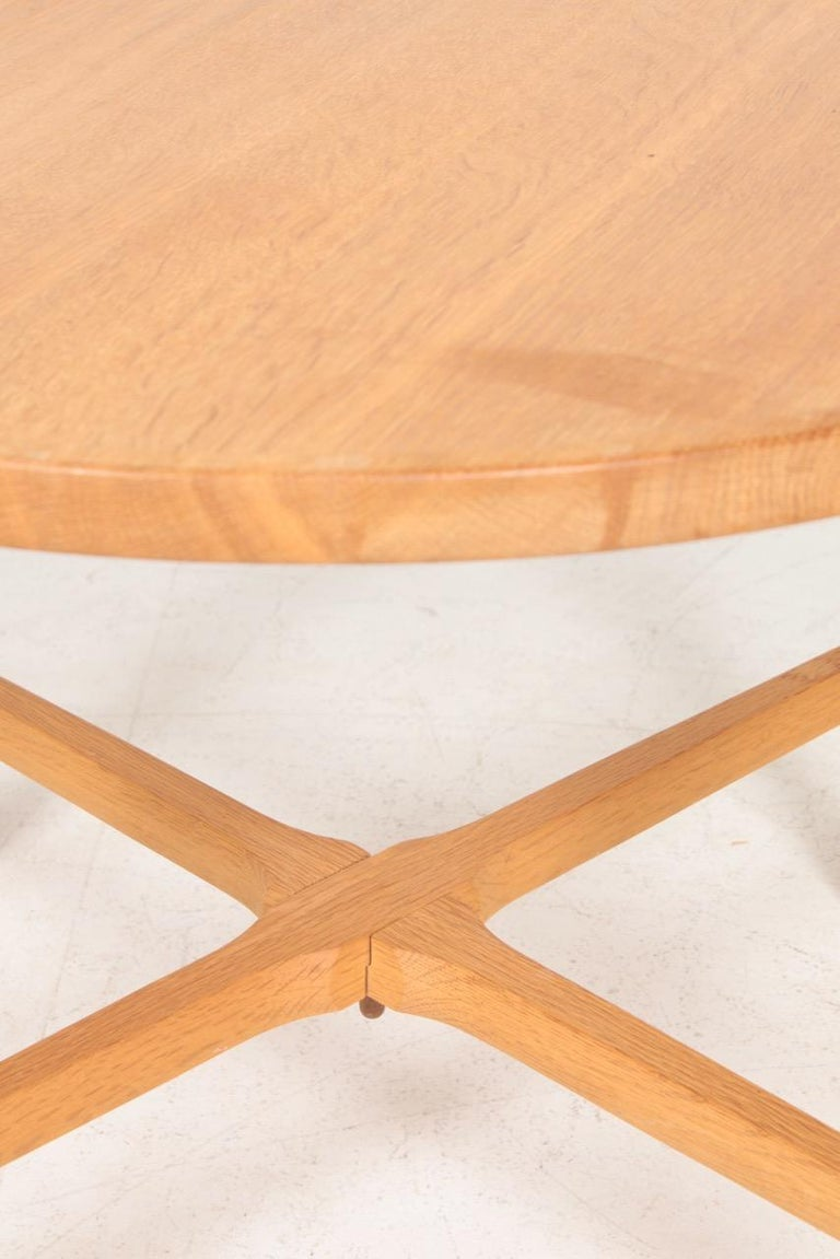 Mid-20th Century Midcentury Tray Table in Solid Oak by Hans J. Wegner, 1960s For Sale