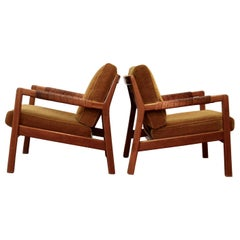 Midcentury Trienna Lounge Chairs by Carl Gustav Hiort af Ornäs, Finland, 1960s