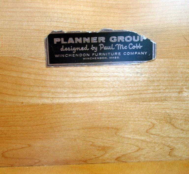 Midcentury Tripe Dresser by Paul McCobb, circa 1950 Planner Group #1508 Black For Sale 1