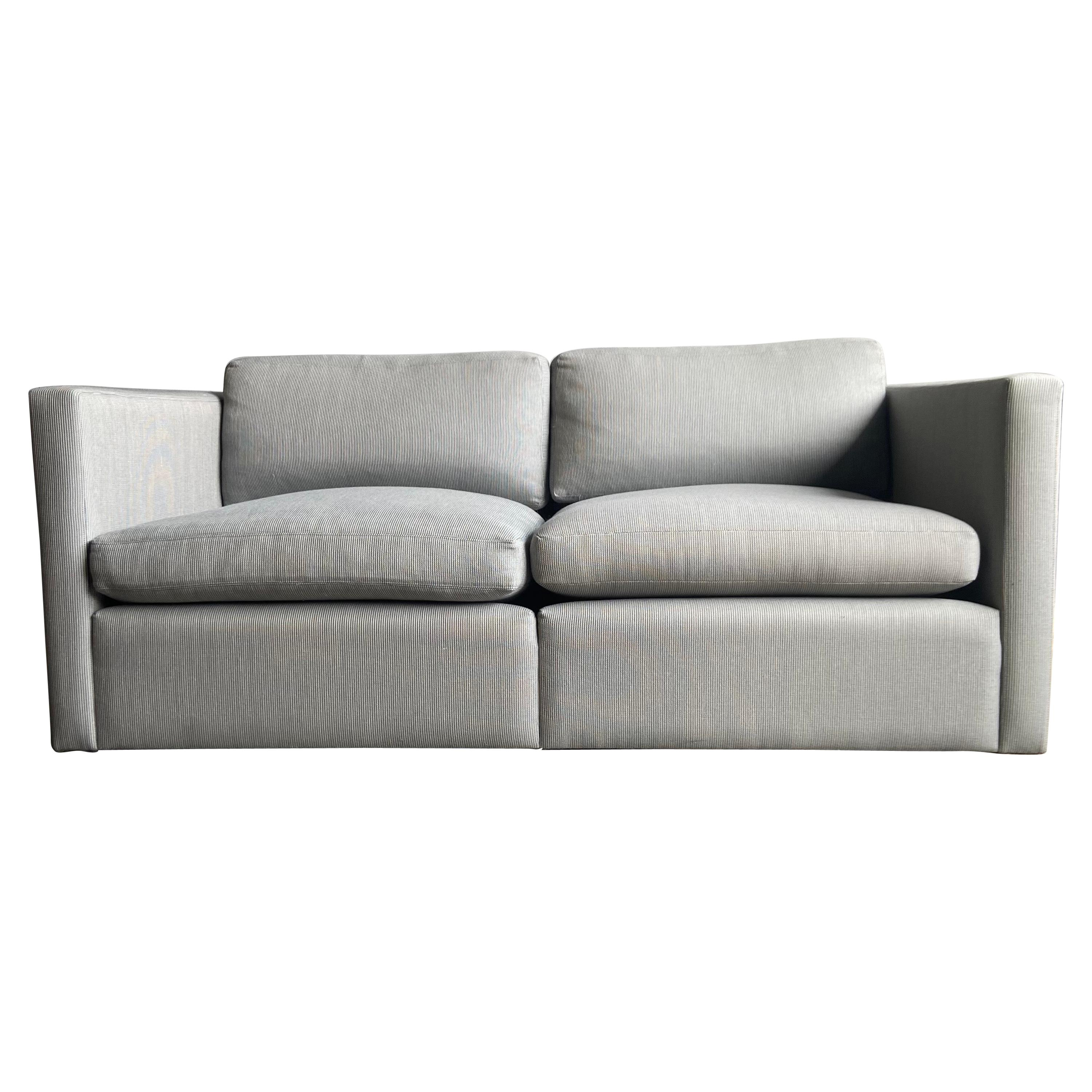 Midcentury Two Seat Sofa for Knoll