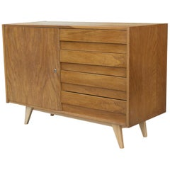 Midcentury U-453 Chest of Drawers by Jiří Jiroutek for Interier Praha, 1960s