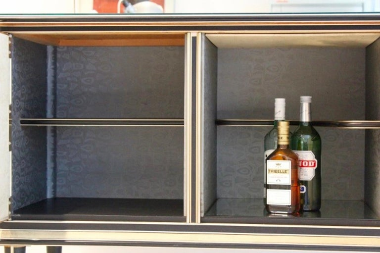 Mid-Century Modern Midcentury Umberto Mascagni Bar Cabinet for Harrods London, 1950s For Sale