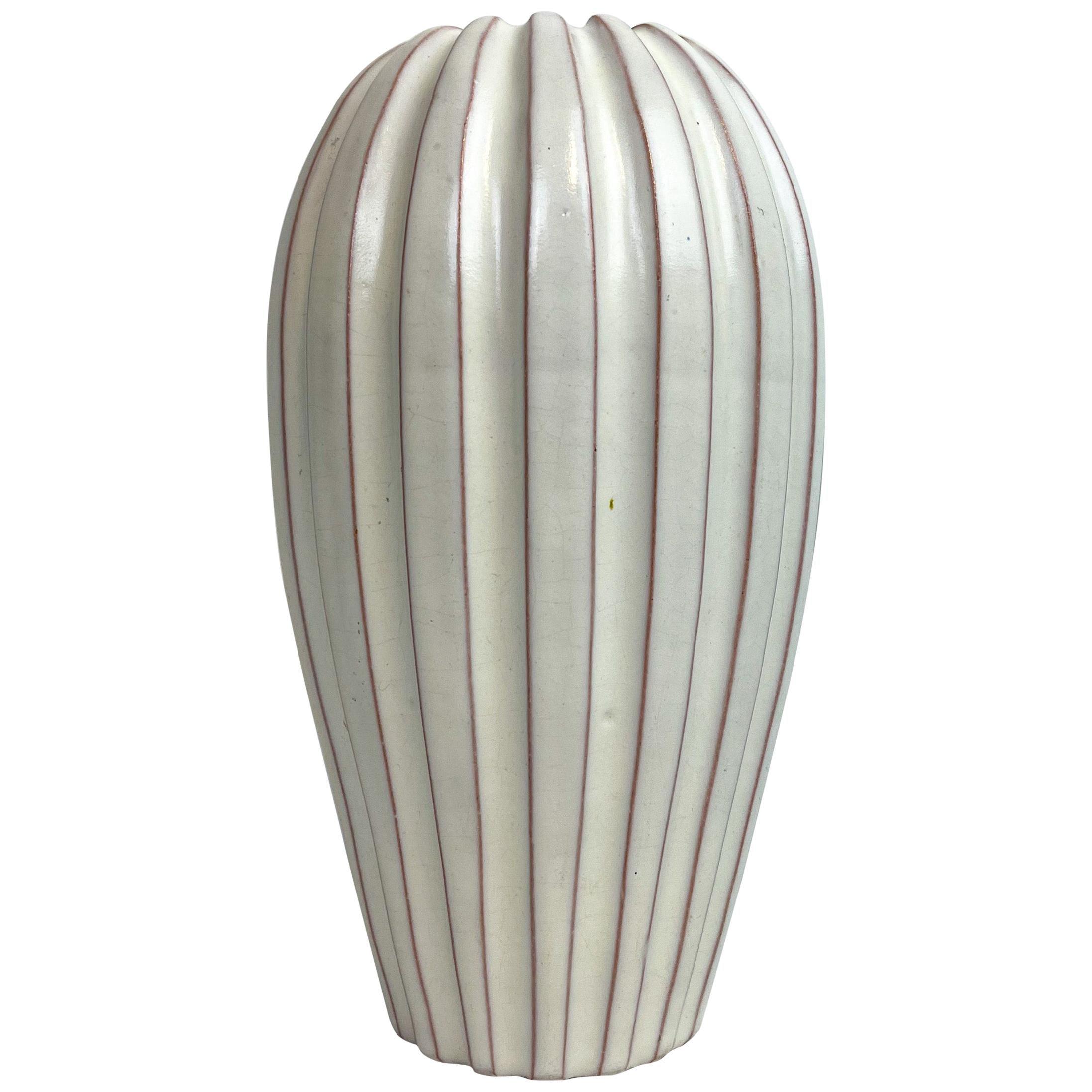 Midcentury Vase by Vicke Lindstrand, 1940s, Sweden