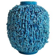"""Midcentury Vase """"Chamotte"""" Gunnar Nylund Rörstrand, Sweden"""