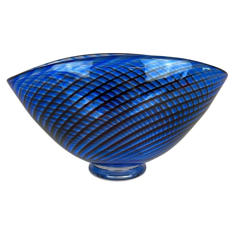 """Midcentury Vase """"Colora"""" Kosta Vicke Lindstrand, 1950s, Sweden For Sale"""