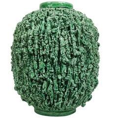 "Midcentury Vase Middle Size ""Chamotte"" Gunnar Nylund Rörstrand Sweden"