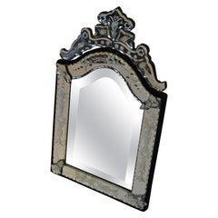 Midcentury Venetian Mirror