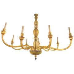 Midcentury Venetian Murano Glass Chandelier