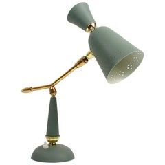 Midcentury Vintage French Table Lamp, 1950s