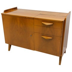 Midcentury Vintage Small Cabinet by František Jirák, 1960s, Czechoslovakia