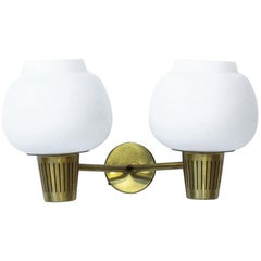 Midcentury Wall Lamp by Hans Bergström for Ateljé Lyktan, Sweden