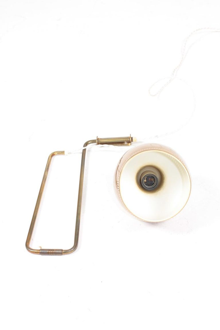 Midcentury Wall Lamp in Brass by Alvar Aalto, 1960s For Sale 3