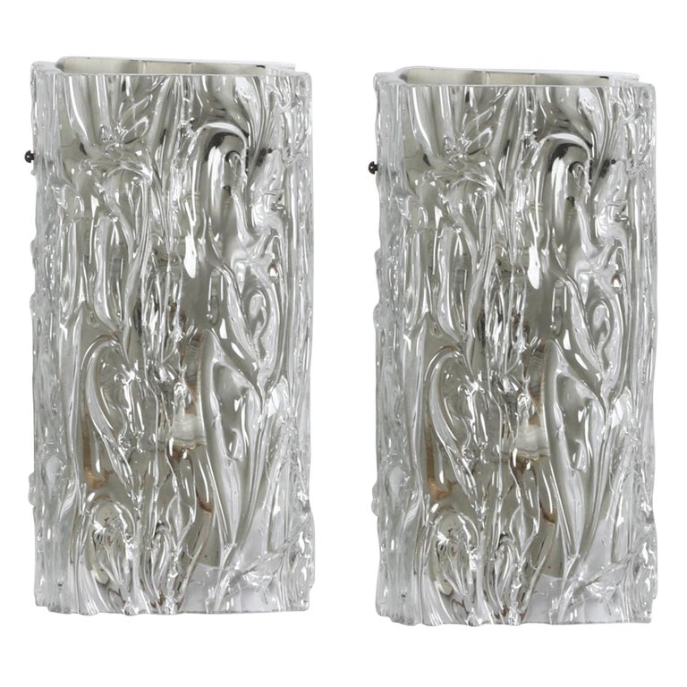 Midcentury Wall Sconces by Toni Zuccheri For Sale