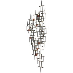 Midcentury Wall Sculpture by Willem Degroot