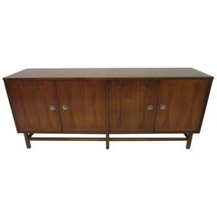 Midcentury Walnut and Rosewood Credenza / Sever Buffet