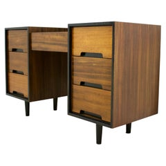 Midcentury Walnut Dressing Table from Stag Furniture, 1960s