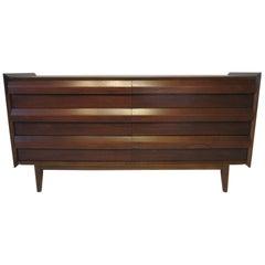 Midcentury Walnut First Edition Dresser by Altavista Lane