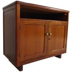 Midcentury Walnut Side Cabinet