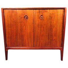 Midcentury Walnut Side Chest by Drexel
