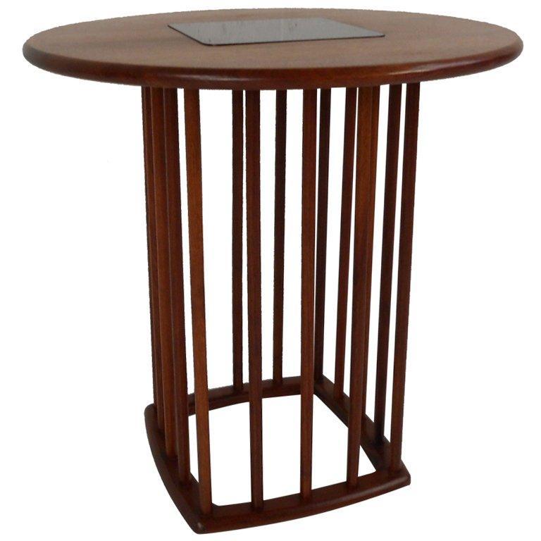 Midcentury Walnut Side Table