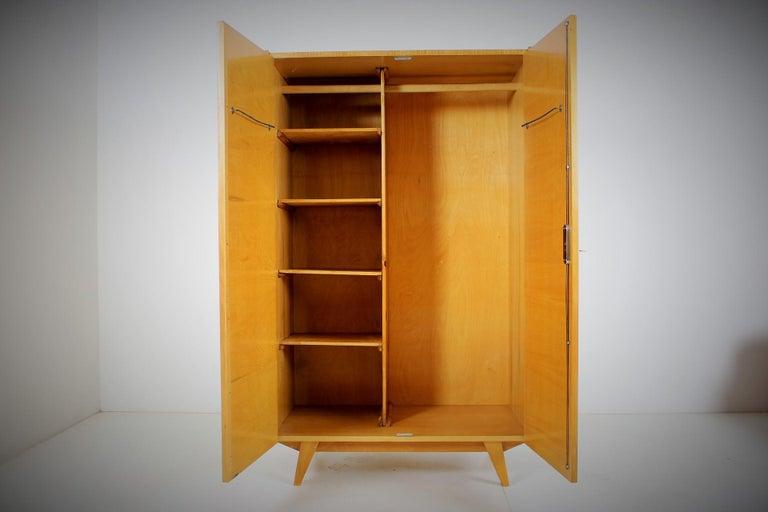 Midcentury Wardrobe Designed by Jiří Jiroutek, 1960s For Sale 2