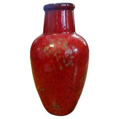 Midcentury West German Glazed Ceramic Vase
