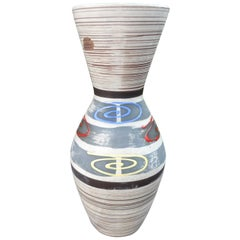 Midcentury West German Glazed Pottery Vase
