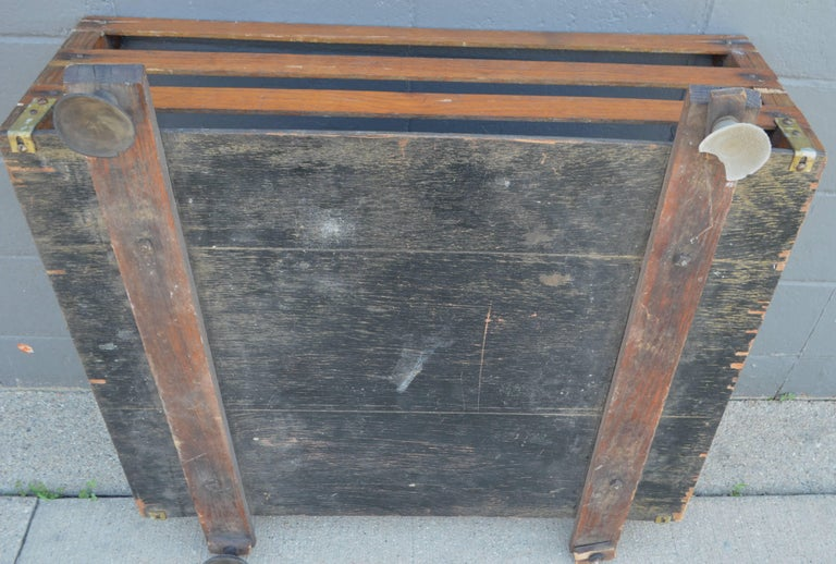 Midcentury Wooden Cartop Rack and Luggage Carrier For Sale 3