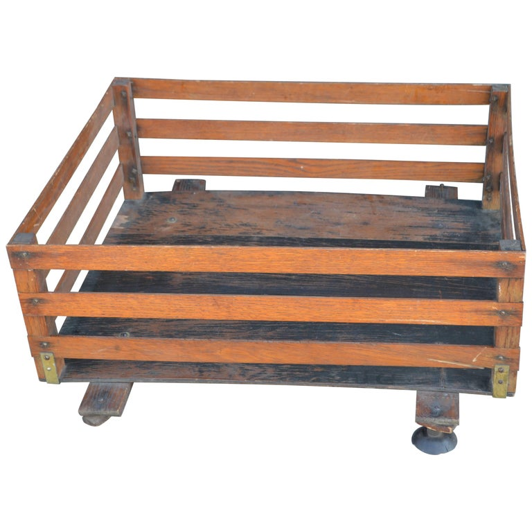 Midcentury Wooden Cartop Rack and Luggage Carrier For Sale