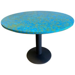 Midcentury World Laminate Top Table