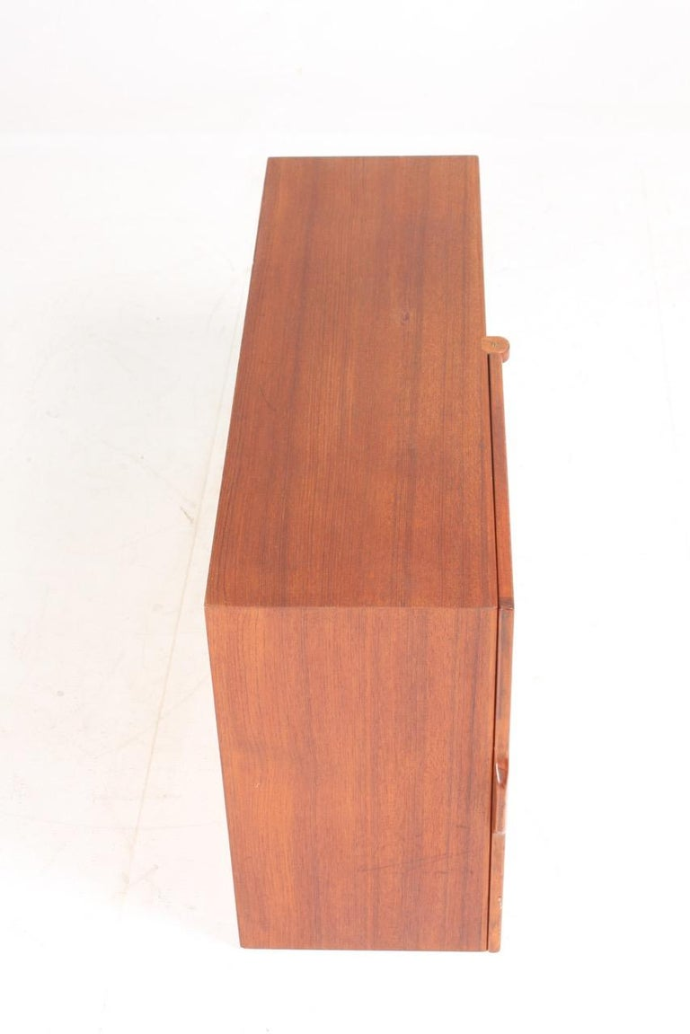 Midcuntury Call Cabinet in Teak, Made in Denmark, 1950s For Sale 4