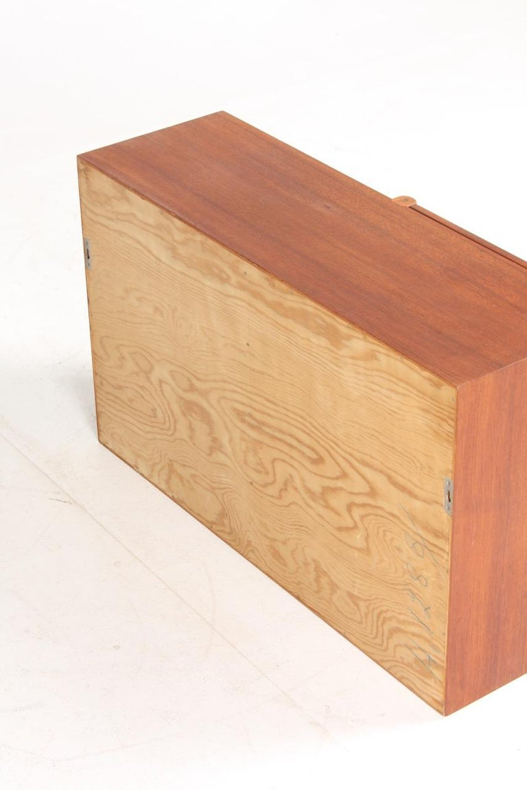 Midcuntury Call Cabinet in Teak, Made in Denmark, 1950s For Sale 5