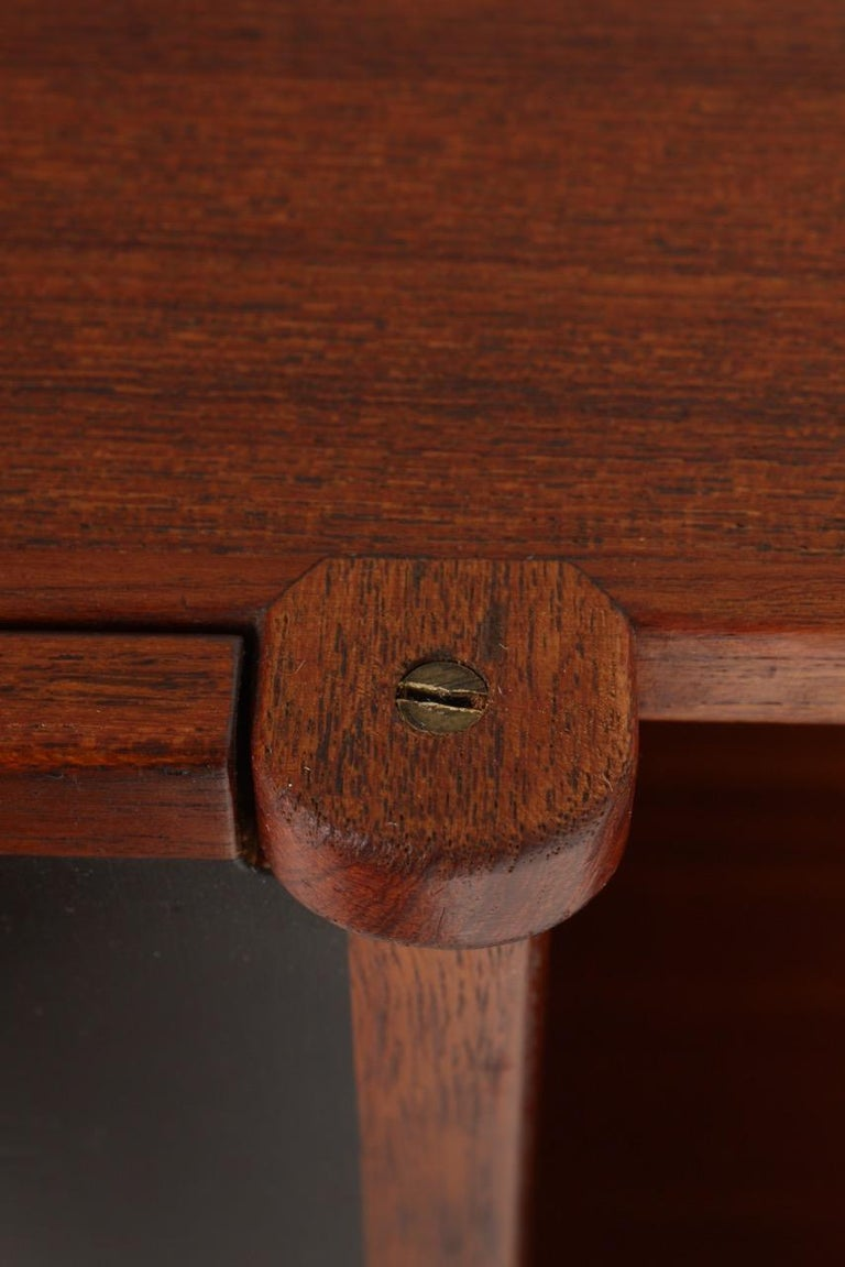 Midcuntury Call Cabinet in Teak, Made in Denmark, 1950s In Good Condition For Sale In Lejre, DK