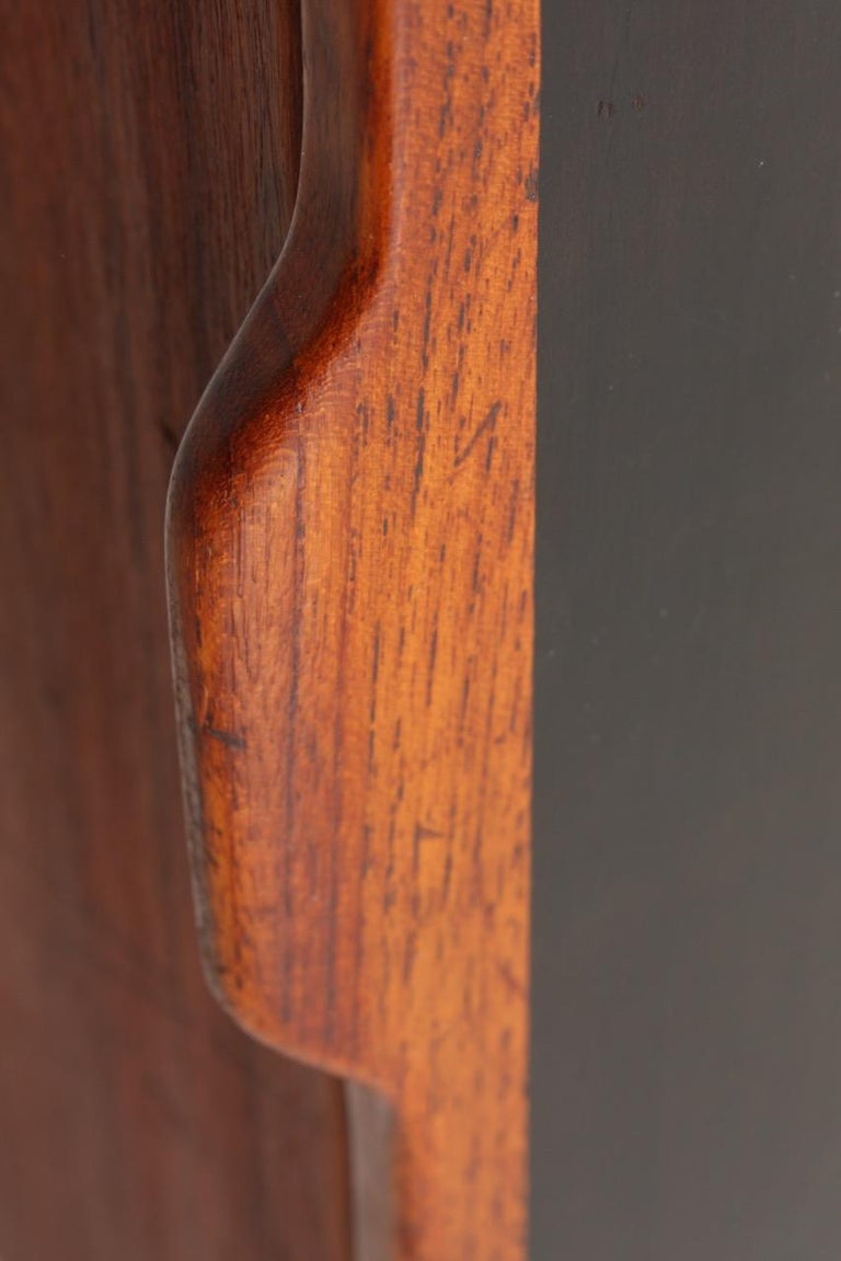 Midcuntury Call Cabinet in Teak, Made in Denmark, 1950s For Sale 1