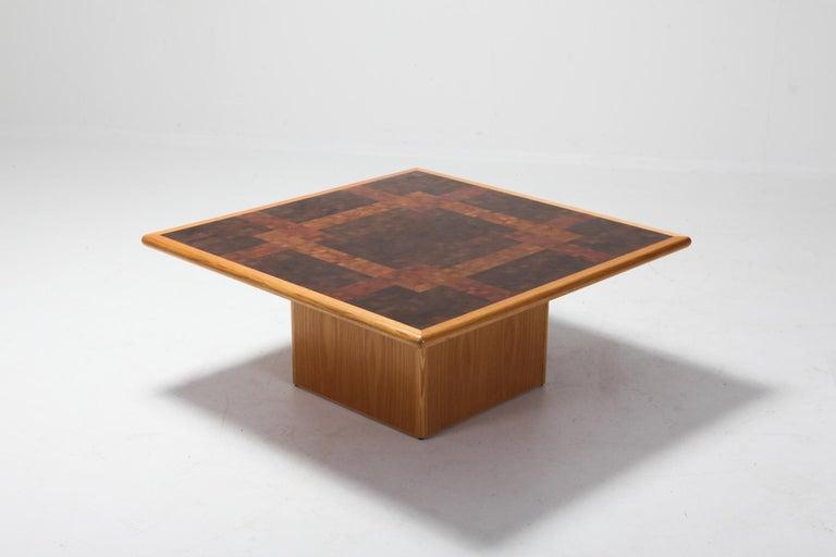 Mid-Century Modern Middelboe and Lindum Mosaic Coffee Table For Sale