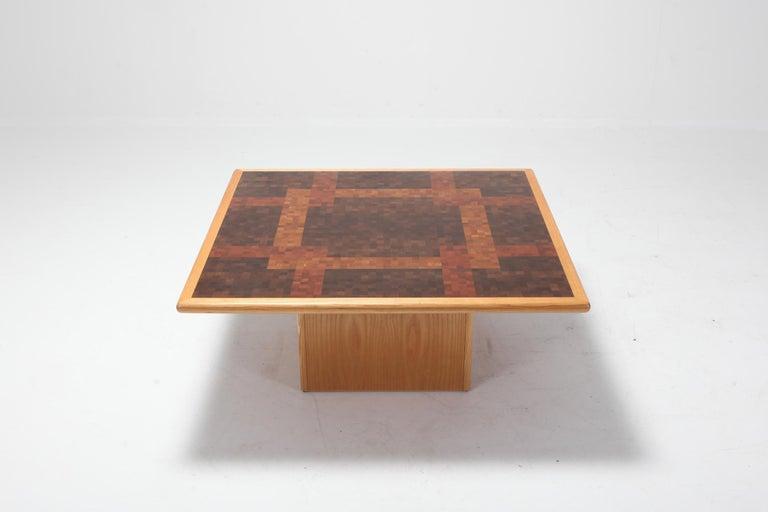 Danish Middelboe and Lindum Mosaic Coffee Table For Sale