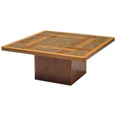 Middelboe and Lindum Mosaic End Grain Coffee Table