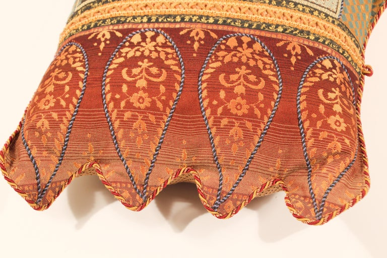 Middle Eastern Decorative Throw Pillow For Sale 1