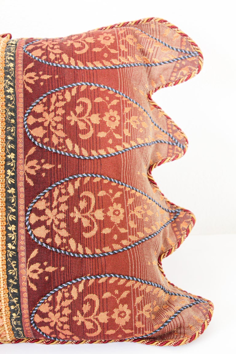 Middle Eastern Decorative Throw Pillow For Sale 9