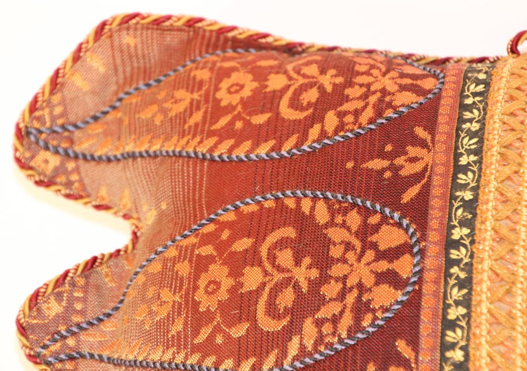 Middle Eastern Decorative Throw Pillow In Good Condition For Sale In North Hollywood, CA