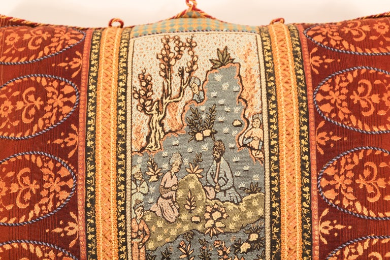 20th Century Middle Eastern Decorative Throw Pillow For Sale